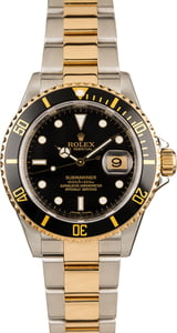 Pre Owned Mens Rolex Submariner 16613