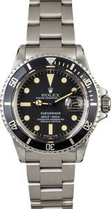 Vintage 1978 Rolex Submariner 1680 Feet First