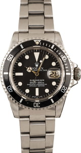 Vintage 1978 Rolex Red Submariner 1680 Feet First