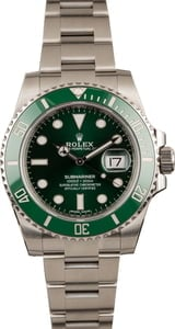Pre-Owned Rolex Submariner Green Anniversary 116610