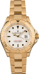 Pre-Owned Rolex Yachtmaster 16628 White Dial Watch