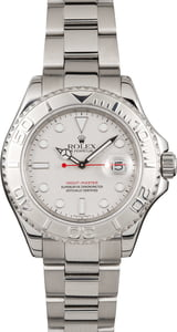 Pre Owned Rolex Yacht-Master 16622 Platinum Bezel