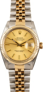 Rolex Datejust 16013 Champagne Two Tone