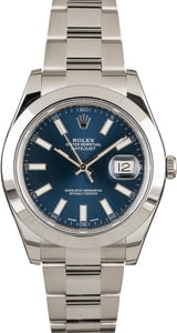 Rolex Datejust Blue Dial 116300