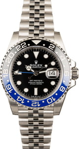 Unworn Rolex GMT-Master 126710 Jubilee Ceramic 'Batman'