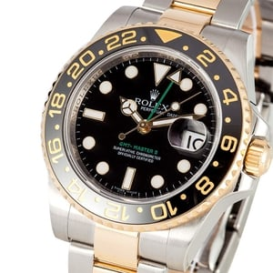 Two Tone Rolex GMT Master II 116713