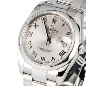 Rolex Datejust 116200 Roman 100% Authentic