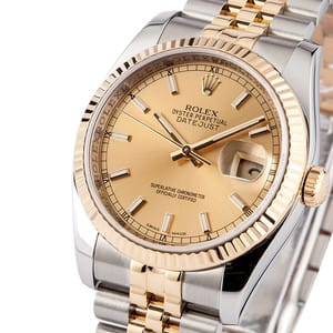 Two Tone Rolex DateJust 116233