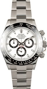 Rolex Daytona 116500 Ceramic with White Dial