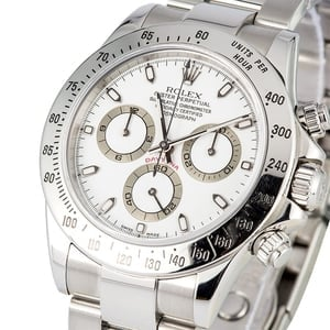 Rolex Daytona White Dial 116520 Stainless Steel