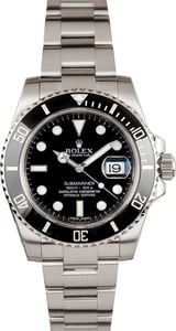 Rolex Men's Submariner 116610LN Black