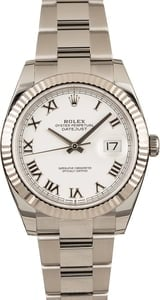 Pre-Owned Rolex 126334 Datejust II White Dial