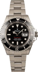 Rolex 126600 Sea-Dweller Red Lettering Dial