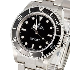 Rolex Submariner 14060 No Date Model