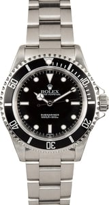 Rolex No Date Submariner 14060 Black