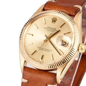 Rolex 14K Yellow Gold Date 1503