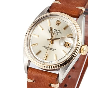 Vintage Rolex DateJust Stainless Steel Model 1601