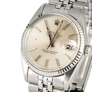 Rolex Datejust 16014 Certified Pre-Owned