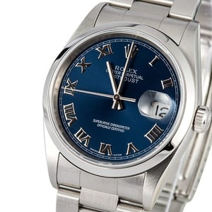 Rolex Datejust Stainless Steel 16200 Oyster