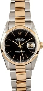 Rolex Two Tone Datejust Oyster 16203