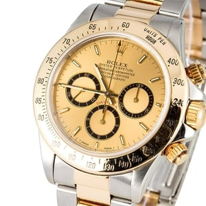 Rolex Daytona 16523 Two Tone 100% Authentic