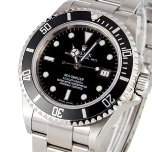 Rolex Men's Sea-Dweller 16600 Black Dial