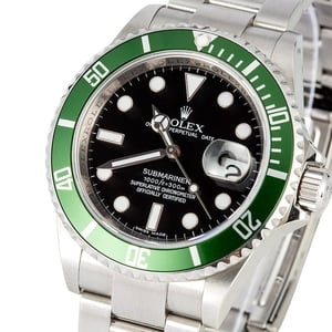 Rolex Submariner Green Anniversary 16610V