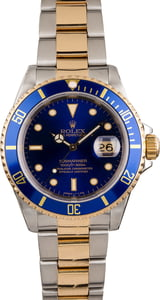 Used Rolex Submariner 16613 Men's Diving Watch