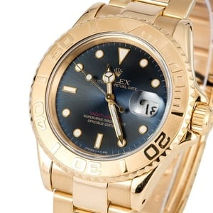 Rolex Yacht-Master 18K Yellow Gold 16628