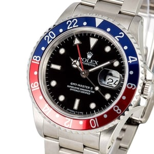 Rolex GMT Master II Pepsi 16710 Certified Pre-Owned