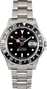 Rolex 16710 GMT-Master II Black Dial