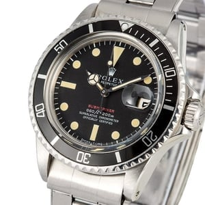 Vintage Rolex Submariner 1680 Red