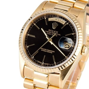 Rolex President 18238 Certified Pre-Owned
