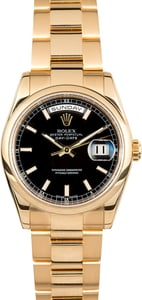 Rolex 18K Gold Day-Date 118208 Oyster