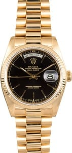 Rolex 18K President 18038 Certified Pre-Owned