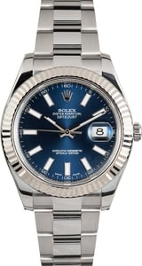 Men's Rolex Datejust II 116334BLSO Blue