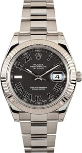 Rolex Datejust II Ref. 116334 White Gold Bezel