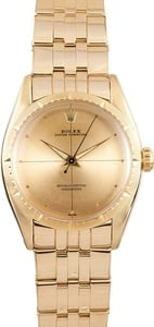Vintage Rolex Oyster Perpetual Yellow Gold