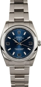 Rolex Air-King 114200 Blue Dial