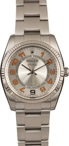 Rolex Air-King 114234 Silver Concentric Arabic Dial