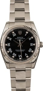 Pre-Owned Rolex Air-King 114234 Diamond Markers