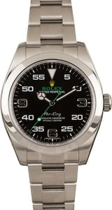 Pre Owned Arabic Dial Rolex Air-King 116900