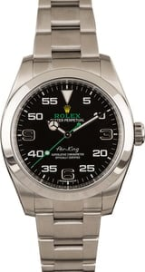 Used Rolex Air-King 116900 Black Dial 40MM