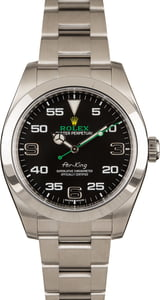 Pre-Owned Rolex Air-King 116900 Arabic Markers Watch