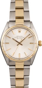 Pre Owned Rolex Air-King 5501 Silver Dial