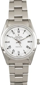 Rolex Air-King 14000 White Dial