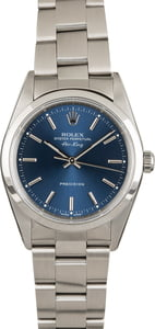 Rolex Air-King 14000 Blue Luminous Dial
