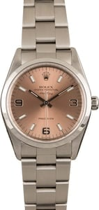 Used Rolex Air-King 14000 Salmon Dial