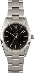 Rolex Air-King 14000 Black Dial