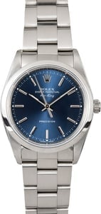 Rolex Air-King 14000 Blue Oyster